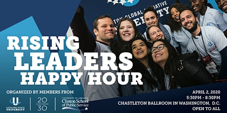 Clinton Foundation Rising Leaders Happy Hour tickets