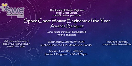 SWE Space Coast Awards Banquet 2020