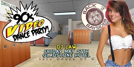 BACK 2 BAYSIDE: The 90s Video Dance Party Homecoming! tickets