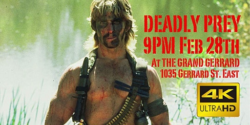 Deadly Prey at The Grand Gerrard Theatre