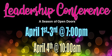 Leadership Conference: The Year of Open Doors tickets