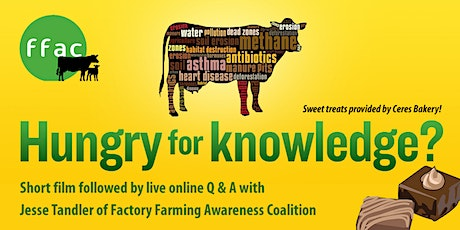 Hungry for Knowledge tickets