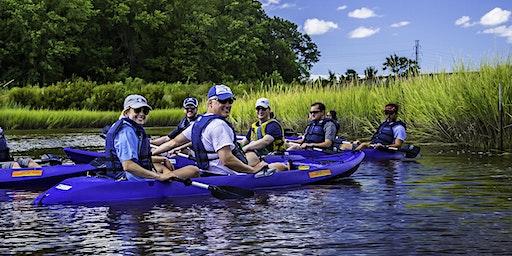 Guided Kayak Paddles May 30