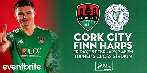 Cork City v Finn Harps