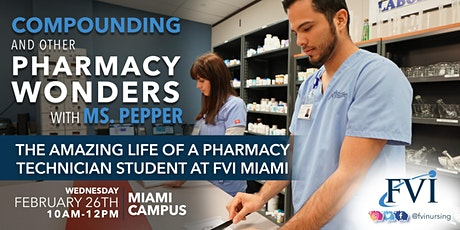 Compounding and other Pharmacy wonders with Ms. Pepper tickets
