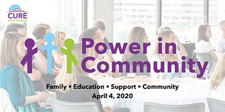 Cure Rare Disease: Power in Community Conference 2020 tickets