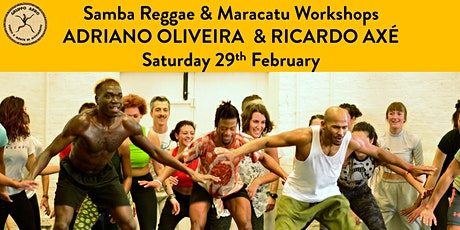 Samba Reggae & Maracatu Workshops tickets