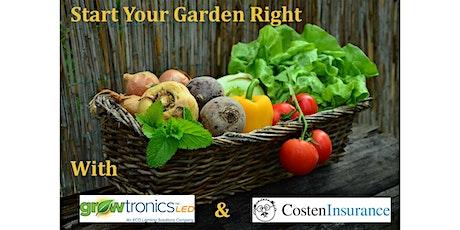 Start Your Garden Right tickets
