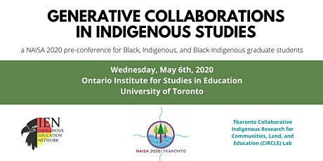 Generative Collaborations in Indigenous Studies - NAISA2020 tickets