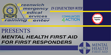 Mental Health First Aid for First Responders tickets