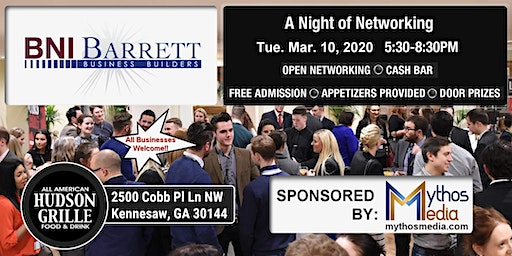 Barrett Business Builders Open Night of Networking
