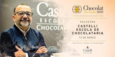 Palestra Castelli | Chocolat Festival | São Paulo 2020 ingressos