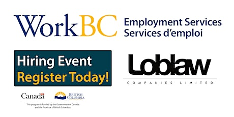 Exclusive Hiring Event on February 27th!  Loblaw - Warehouse Order Pickers tickets