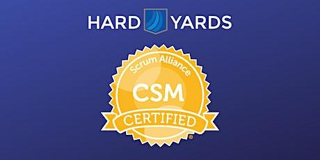 Certified Scrum Master (CSM) with Scrum Alliance Certification tickets