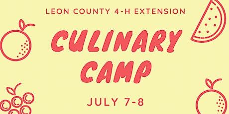 4-H Culinary Camp tickets