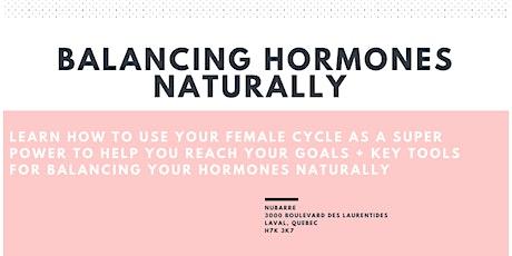 Balancing Hormones Naturally billets