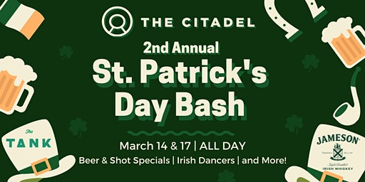 2nd Annual St. Patrick's Day Bash - Tuesday