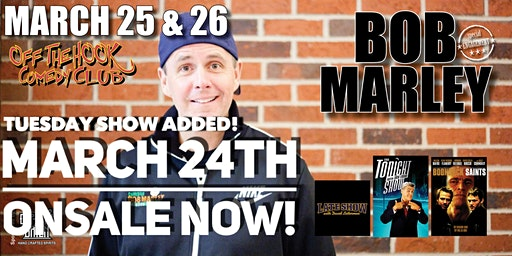Comedian Bob Marley Stand Up Comedy in Naples, Florida