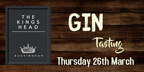 Gin Tasting - Sweets & Desserts March 2020 tickets
