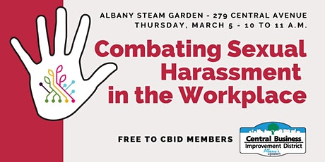 Combating Sexual Harassment Training tickets