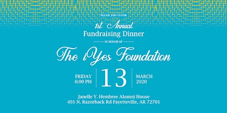 iYes Foundation Founding Donor's Dinner tickets