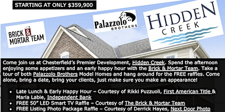Hidden Creek  Broker Open - Apps & Happy Hour tickets
