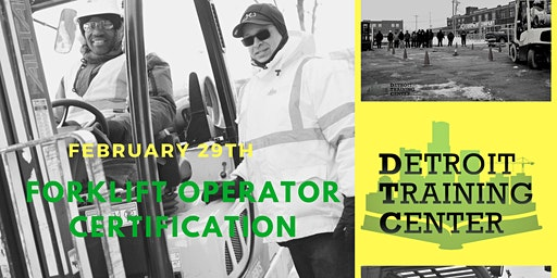 Forklift Operator Certification Course (2.29.20)
