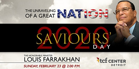 Saviours Day 2020 - Men's Watch Gathering tickets