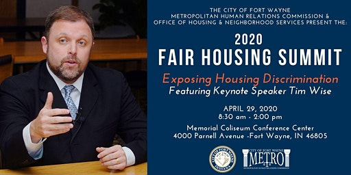 The 2020 Fair Housing Summit: Exposing Housing Discrimination
