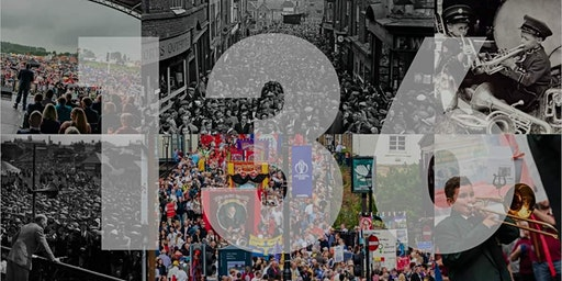 Trip to Durham Miners Gala with Leeds TUC