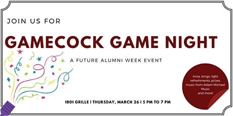 Gamecock Game Night, a Future Alumni Week Event tickets