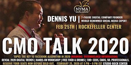 CMO Talk 2020 - Dennis Yu tickets