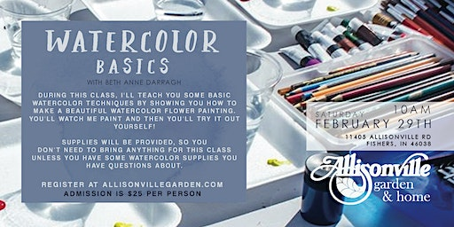 Watercolor Basics with Beth Anne