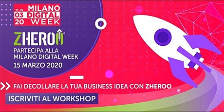 Fai decollare la tua business idea con ZHEROO® tickets