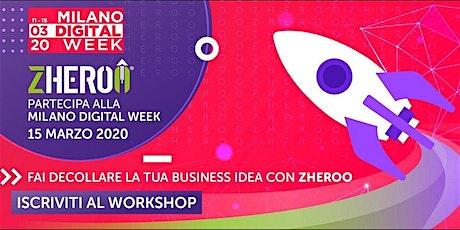 Fai decollare la tua business idea con ZHEROO® biglietti