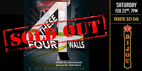These Four Walls - A Play tickets