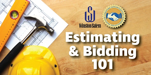 Estimating and Bidding 101