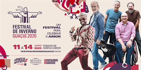 4º Festival de Inverno de Guaçuí  bilhetes