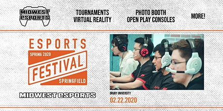 Springfield Esports Festival 2020 - Midwest Esports Conference tickets
