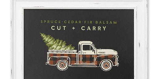 Create & Take w Chalk Couture - Vintage Truck Sign