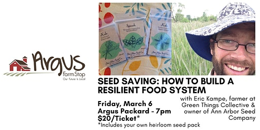 Saving Seeds: How to Build a More Resilient Food System