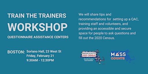 Berkshire County Questionnaire Assistance Centers Training Workshop