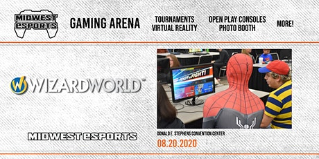Wizard World Chicago - Gaming Arena tickets