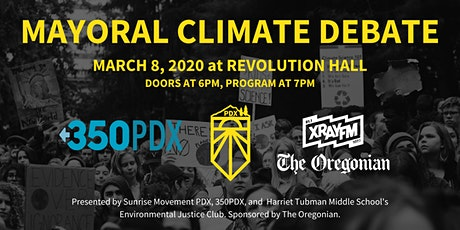 Portland Mayoral Climate and Environmental Justice Forum tickets