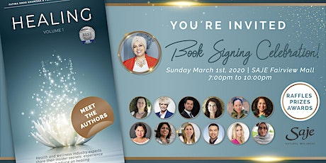 Book Signing Celebration. A Special Evening of Acknowledgement and Healing tickets
