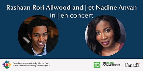 Rashaan Rori Allwood and Nadine Anyan in Concert tickets