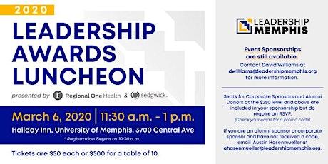 2020 Leadership Awards Luncheon tickets