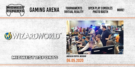 Wizard World St. Louis - Gaming Arena tickets