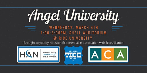 Angel  University at the Houston Tech Rodeo!