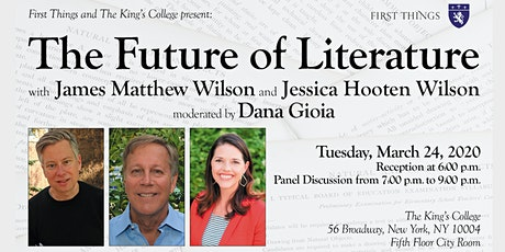 First Things and The King's College present: The Future of Literature tickets